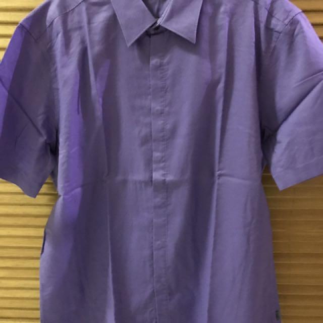 G2000 Shirt - Purple - Size 17(Slim fit)