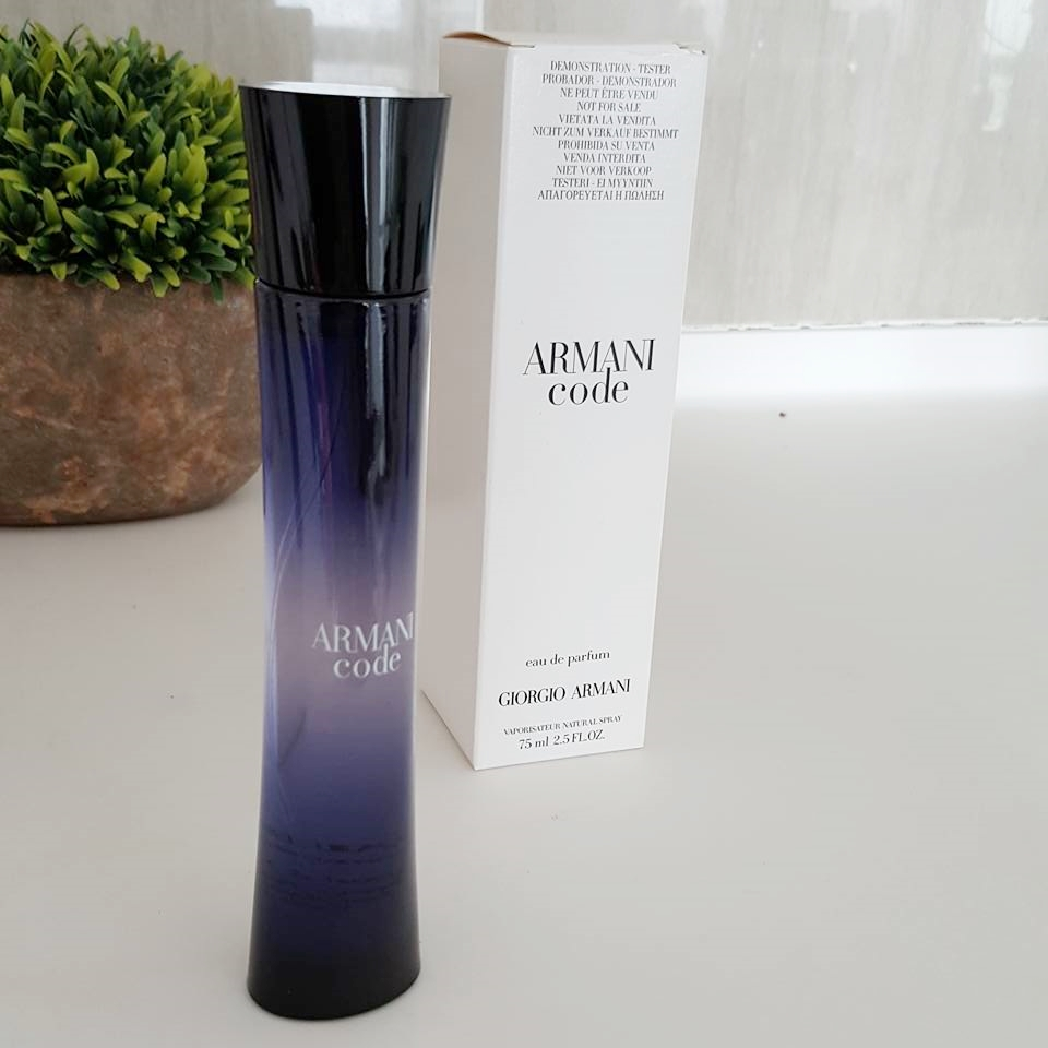 Giorgio Armani Code Pour Femme Edp 75ml (tester), Health   Beauty,  Perfumes, Nail Care,   Others on Carousell c330398a3de8