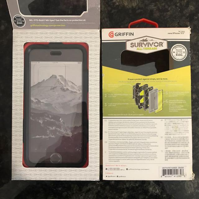 GRIFFIN iPhone Cases 7/6S Plus