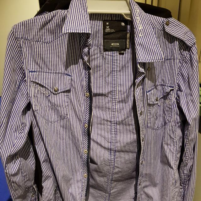 Gstar Semi Formal Shirt Size M