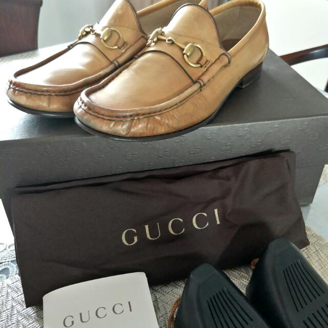 2a9c310fc Gucci Horsebit Loafer Leather Shoe, Men's Fashion, Footwear on Carousell