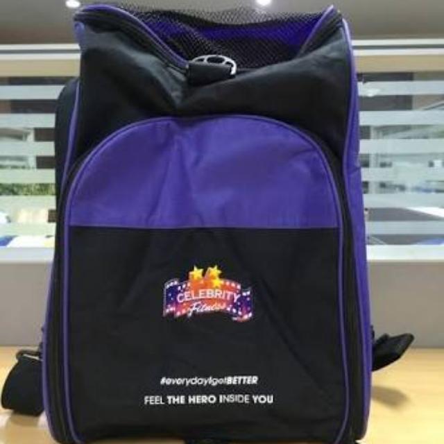Gym Bag Celebrity Fitness Superhero