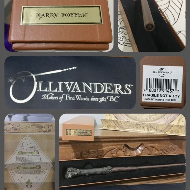 Harry Potter Collectibles Part 2:  Harry Potter's wooden wand