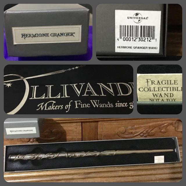 Harry Potter Collectibles Part 4:  Hermione Granger's wooden wand
