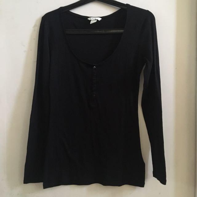 H&M Basic Long Sleeve Shirt