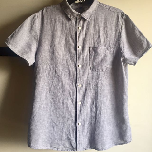 H&M Soft Linen Shirt