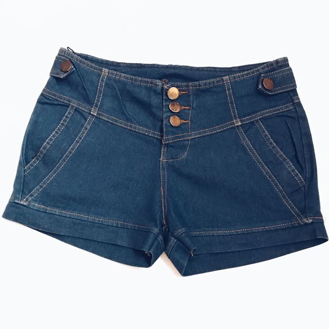 hot pants blue jeans