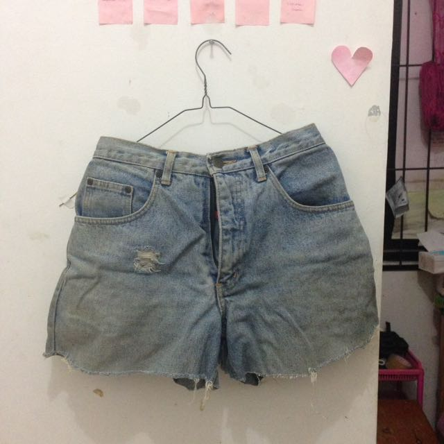 HOT PANTS LIGHT BLUE BIG SIZE