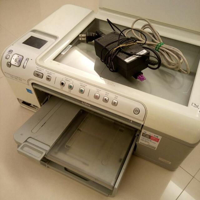 HP photosmart C5380 印表機(附墨水)
