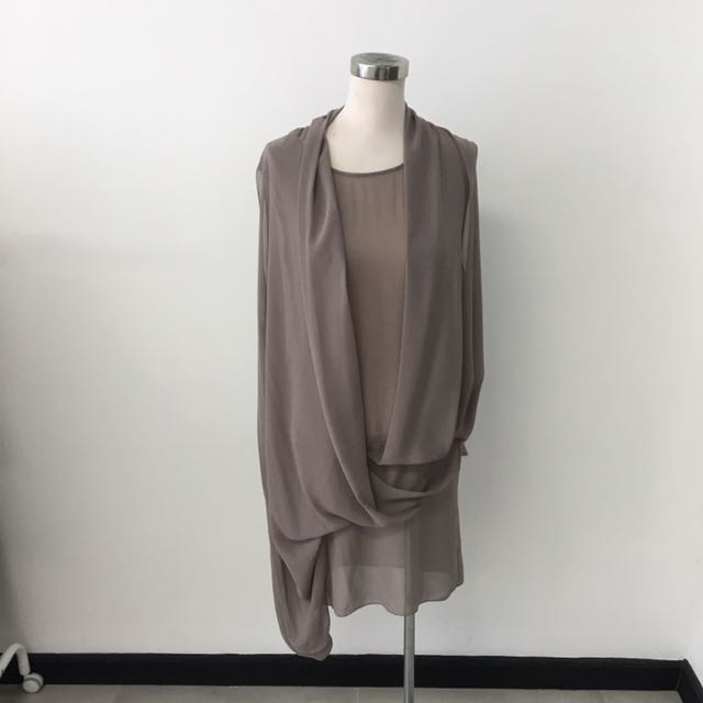 Hunting Fields Layer Dress Size S
