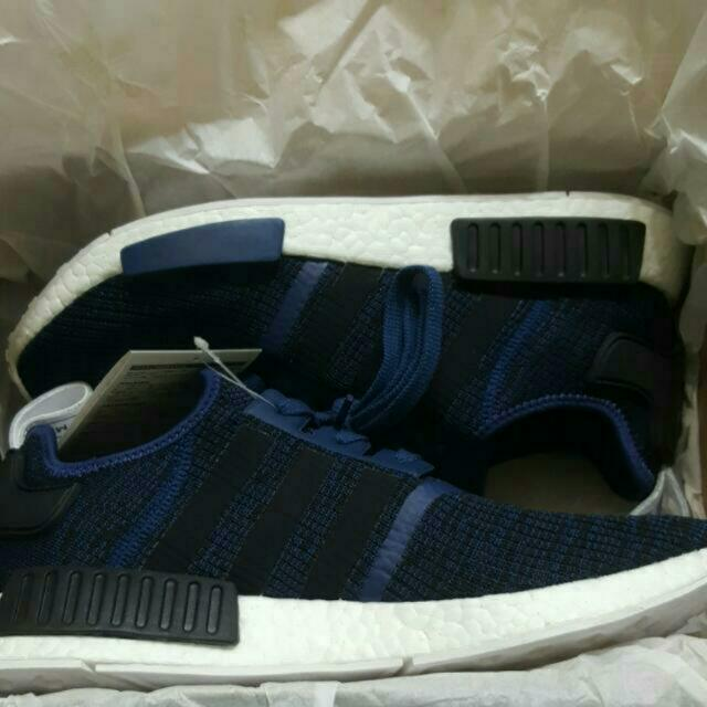 3dc3fe978 DEADSTOCK Adidas Originals NMD R1 Mystic Blue Size US11.5 UK11 (BY2775)  (Brand New)