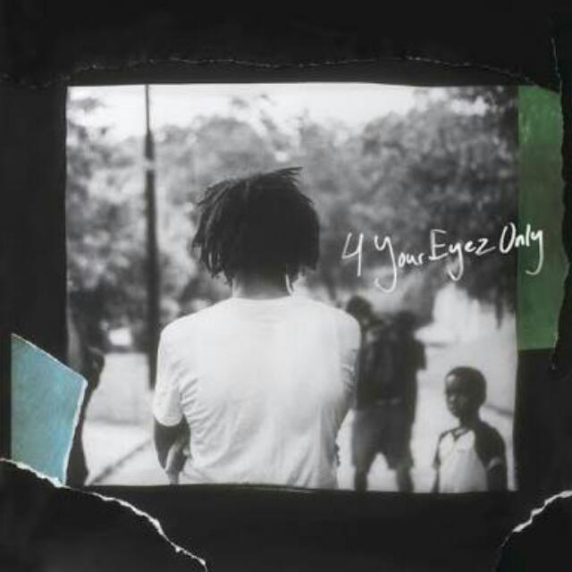 "J. Cole ""4 Your Eyez Only"" tour GENERAL ADMISSSION ticket (Melbourne)"