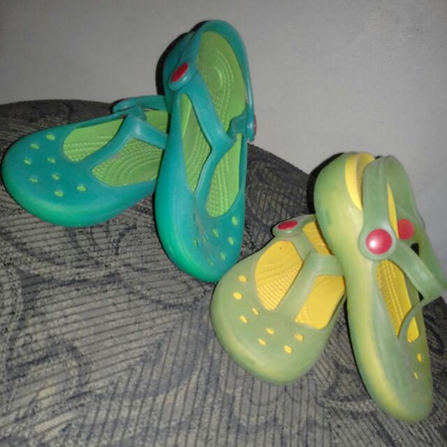 Jelly Shoes (Sold As Set)