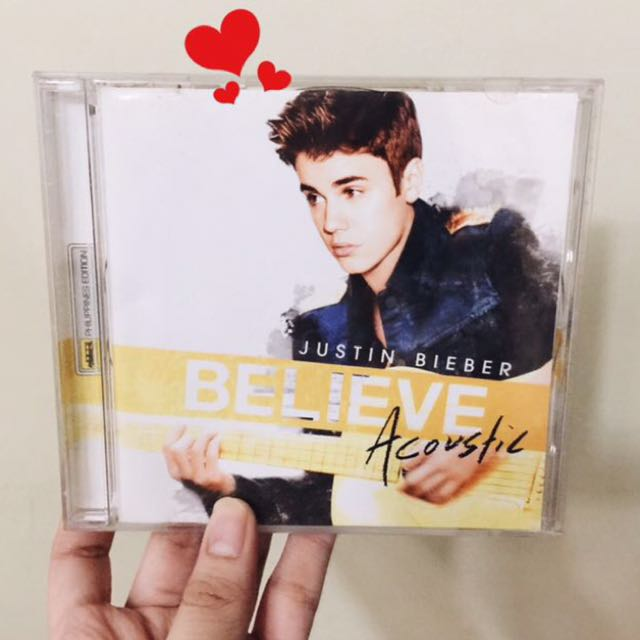 [SOLD] Justin Bieber Believe Acoustic Album