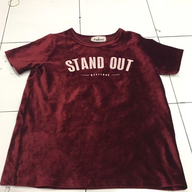 Kaos Bludru Stand Out