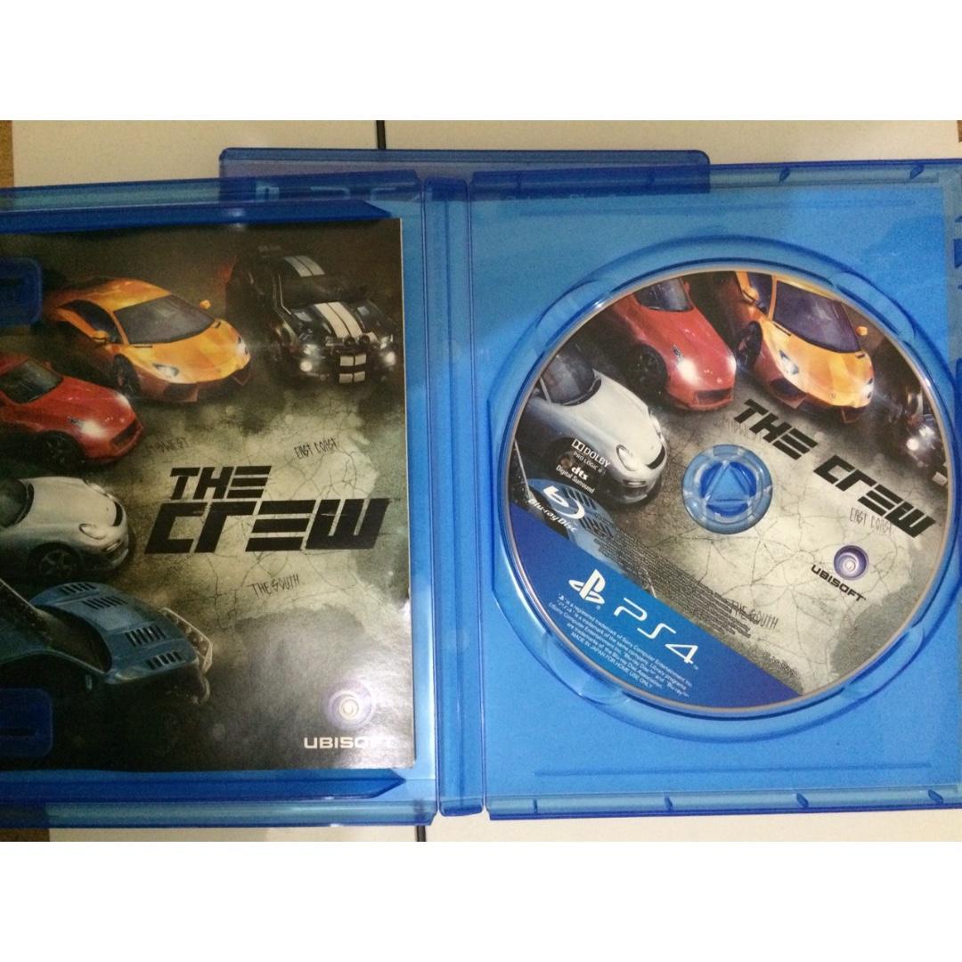 Kaset PS4 Original The Crew