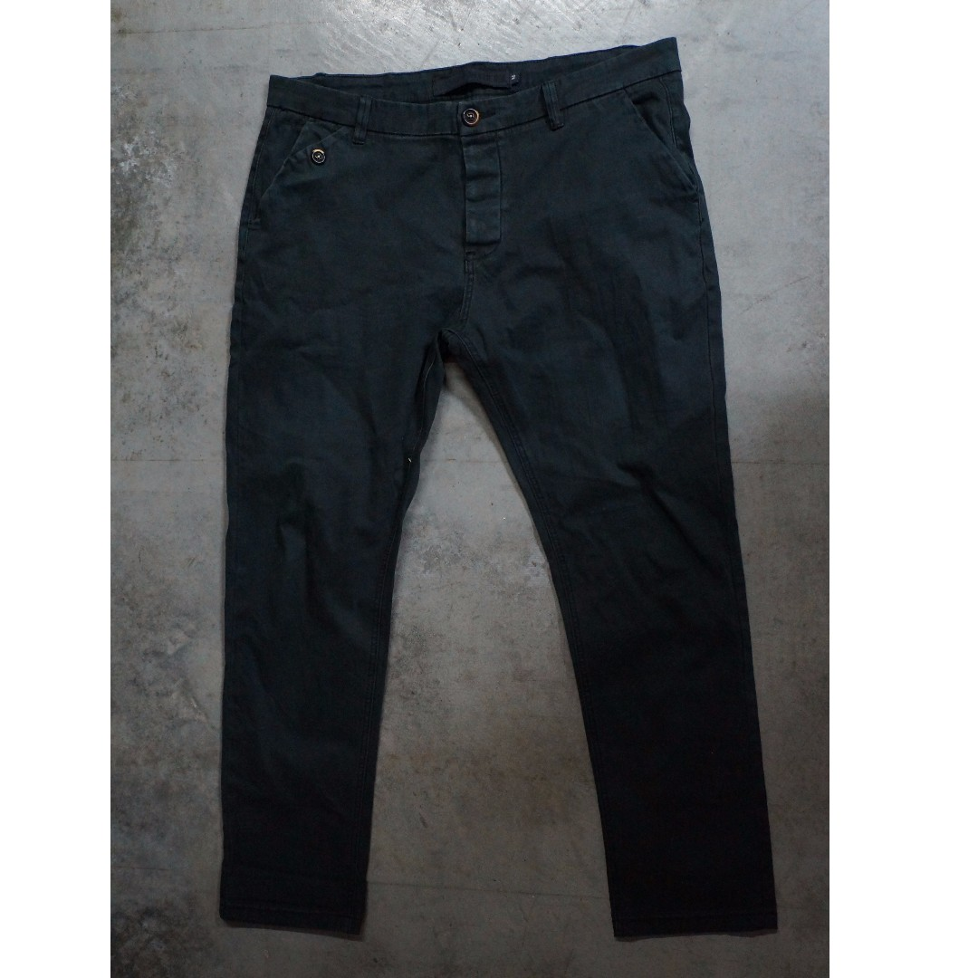 Knights Never Die Jeans Black Size 36