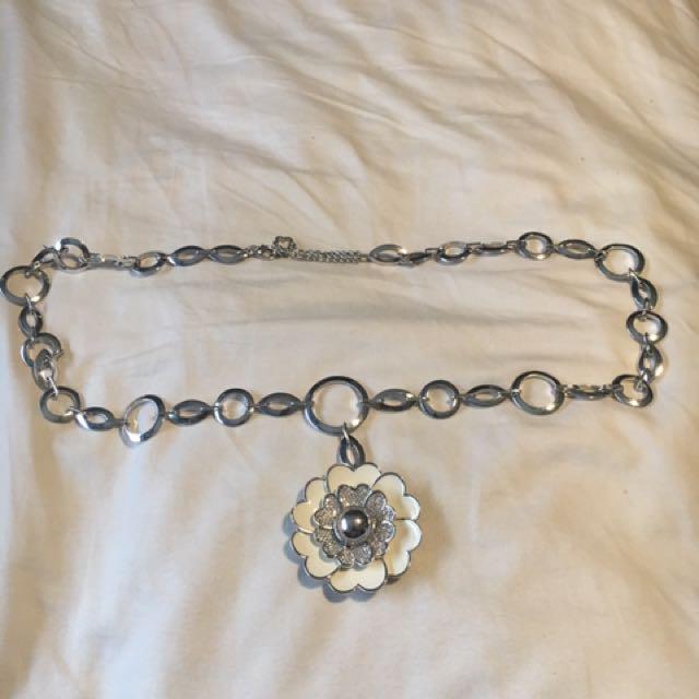 Lauren G. Adams Flower Necklace