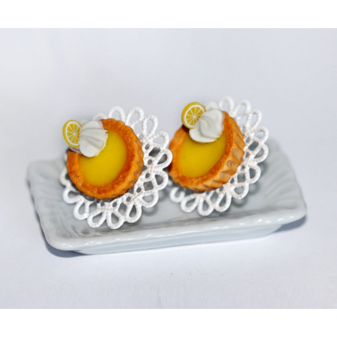 Lemon Pie Earrings (184)