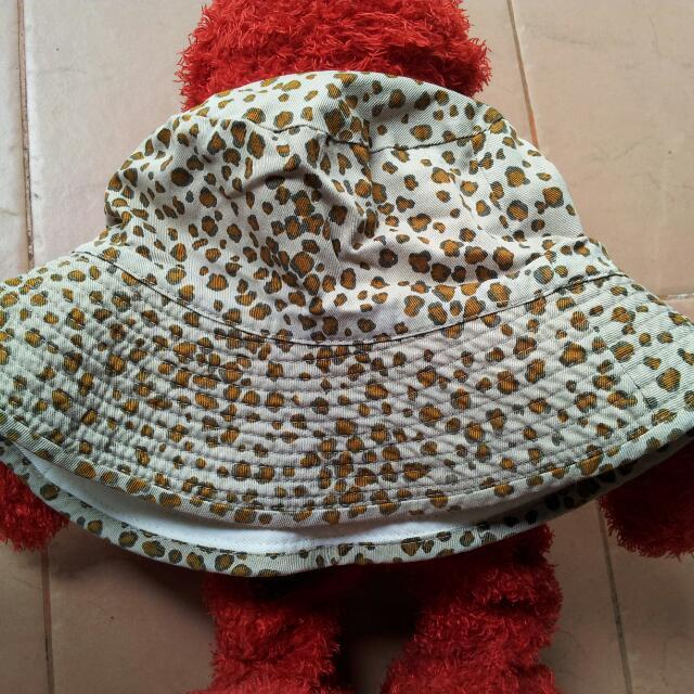 Leopard Bucket Hat Reversible With Glitter Effect 37160bab710