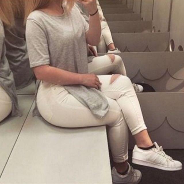 Long Grey Top