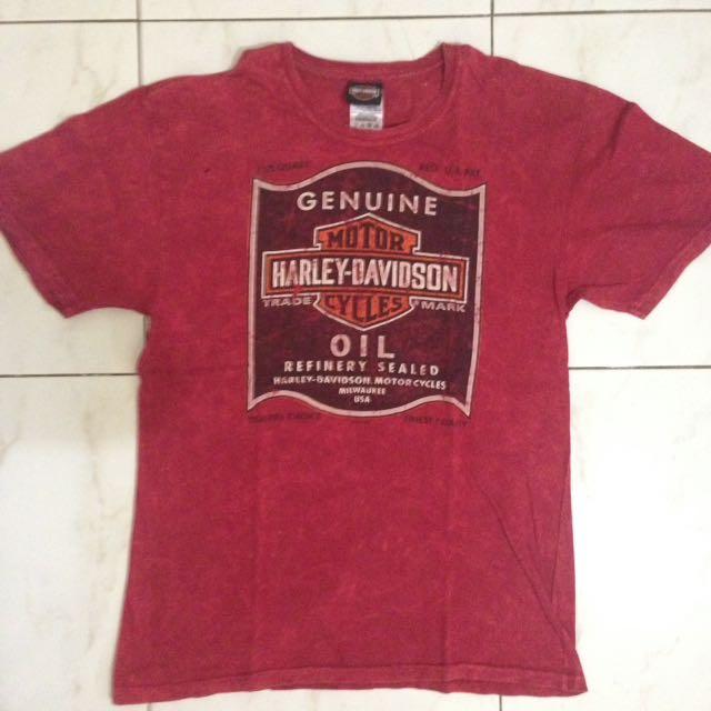 (M) Authentic Harley Davidson T-shirt