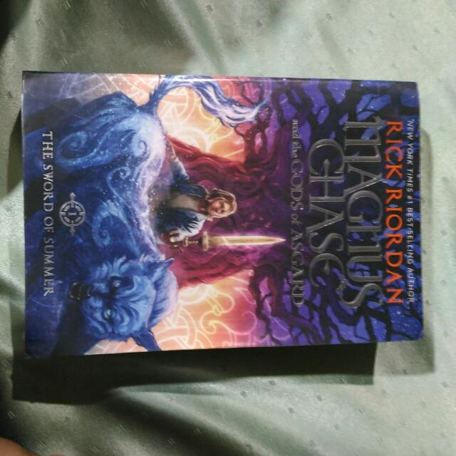 Magnus Chase Book