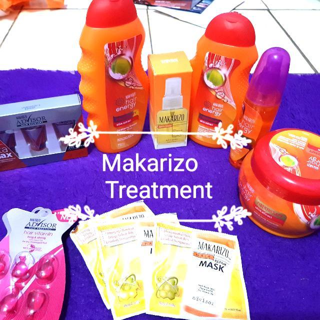 Makarizo Paket Hair Treatment Volume&anty Friz