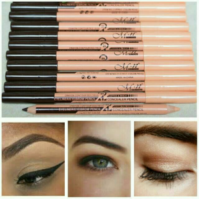 (bundle: 2 for 40) Menow Eyebrow Pencil And Concealer READ DESCRIPTION