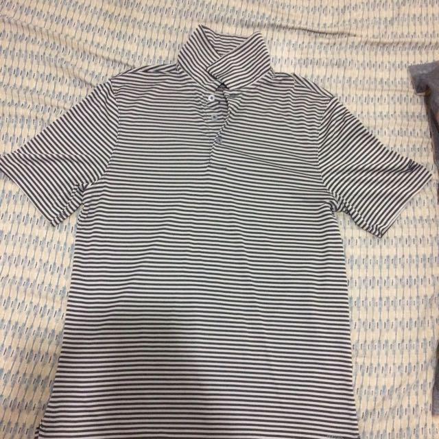 Men's Stripes Brown Shirt