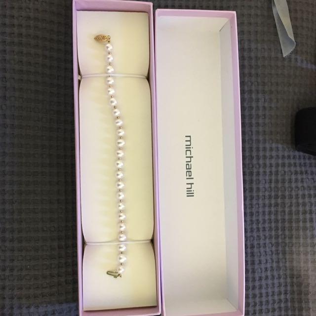 Michael Hill Pearl Bracelet