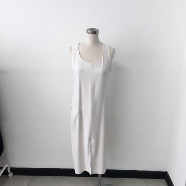 Milcah White Dress Size S