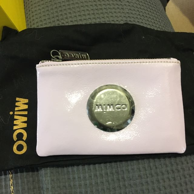 Mimco Pouch - Amethyst