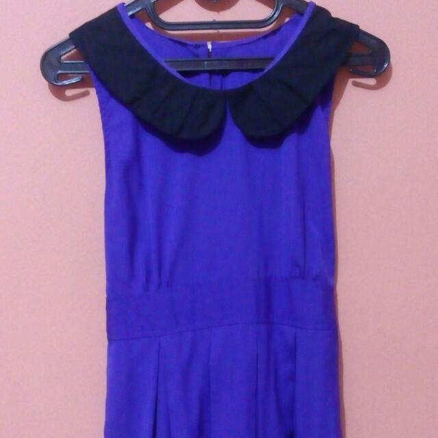 Mini Dress Biru