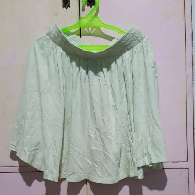 Mint Colored H&M Skater Skirt