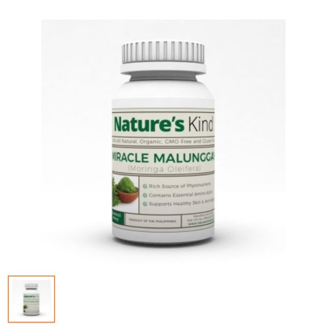 Nature's Kind Malunggay Capsules