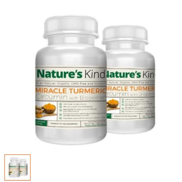 Nature's Kind Turmeric Capsules