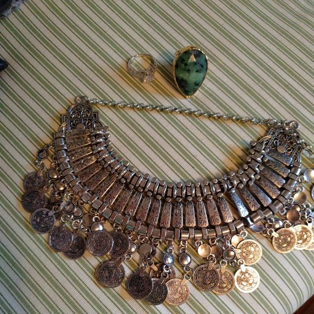 Necklace And Rings