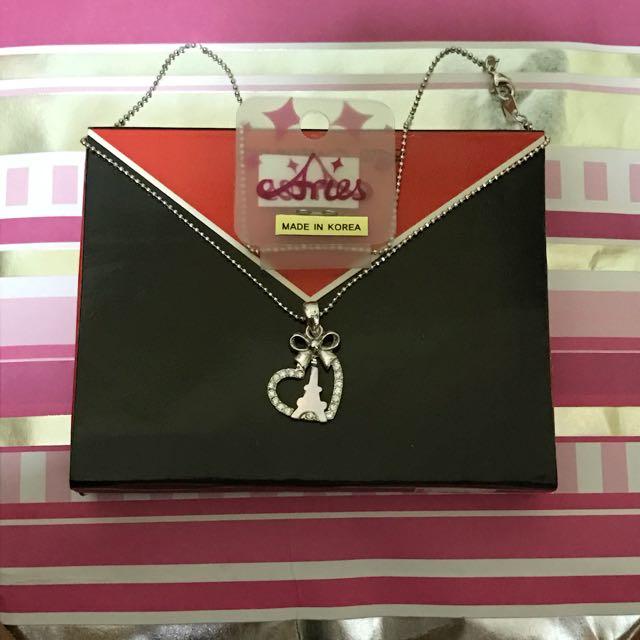 Necklace (Eiffel Tower In Heart)