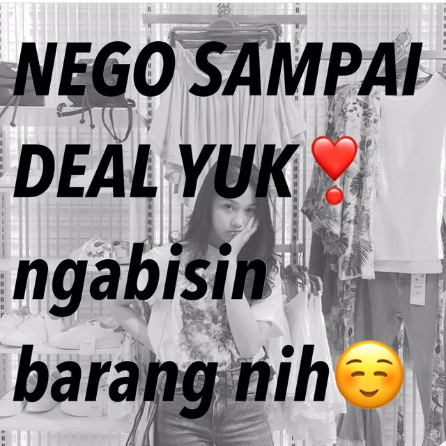 NEGO SAMPAI DEAL ALL ITEMS
