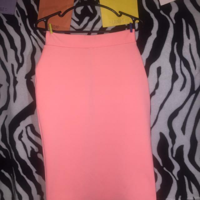 🌸Neon Pink Sexy Skirt🌸