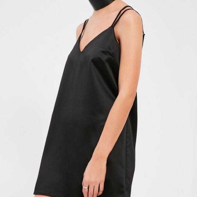 New - Missguided Silk Slip Dress
