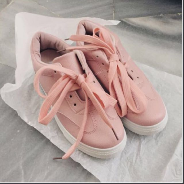 #FreePostage NEW Pink Sneakers @ Sport shoes #FreePostage