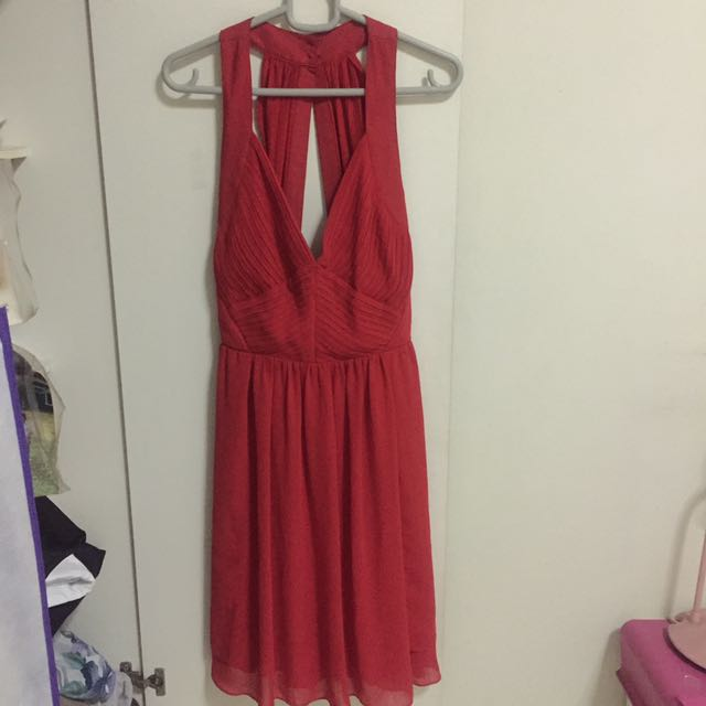 NEW! Warehouse Red Dress