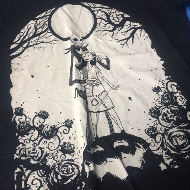 Nightmare Before Christmas Tshirt Xl Disney