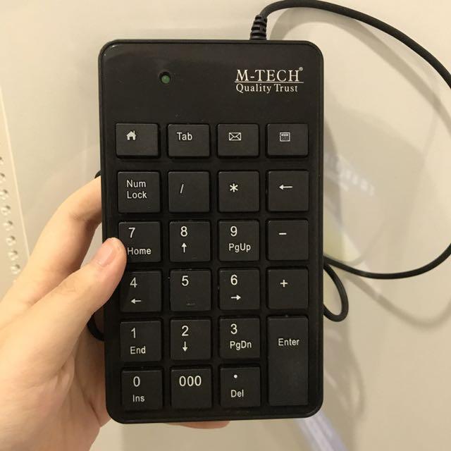 numberic keyboard