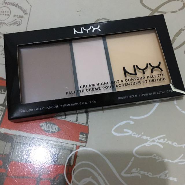 NYX Cream Highlight & Contour Palatte
