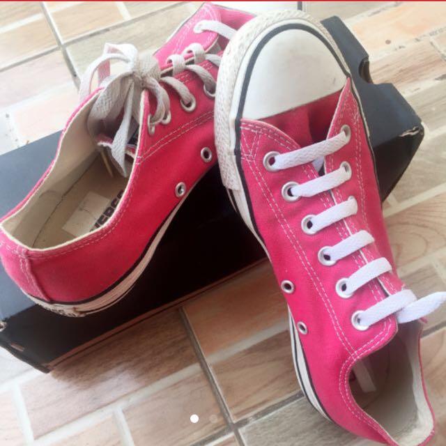 ORI Sepatu Converse Pink