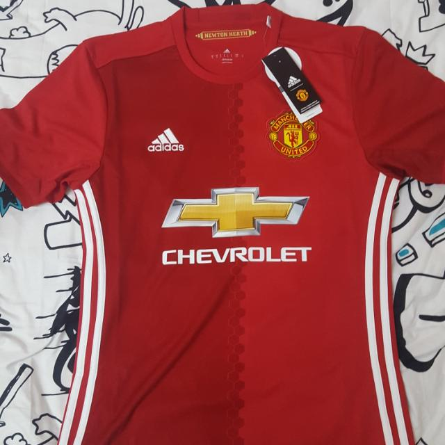 956005412 Original And New Manchester United Home Jersey 16 17