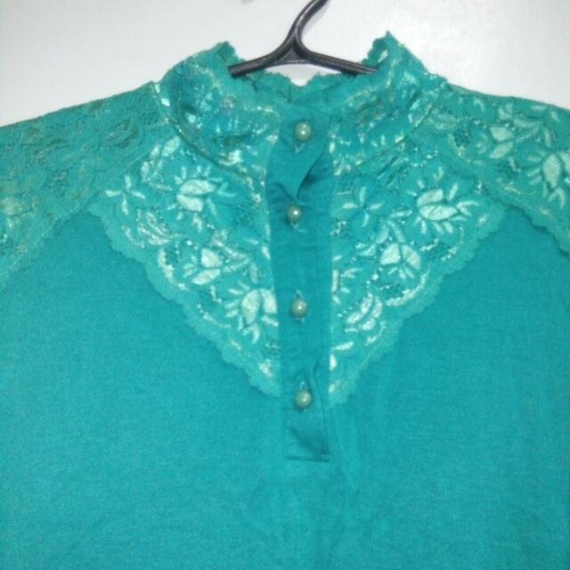Original Karen Johnson Lace Top
